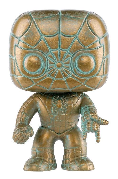Spider-Man - Marvel 80th Anniversary Patina US Exclusive Pop! Vinyl