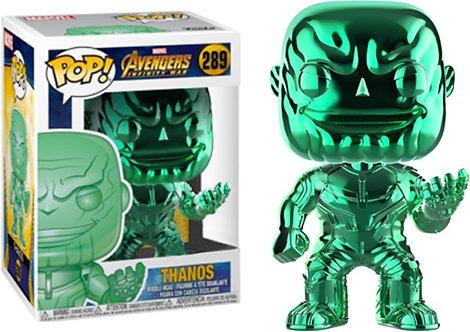 Avengers 3: Infinity War - Thanos Green Chrome US Exclusive Pop! Viny