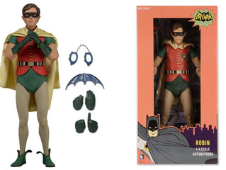 Neca 1/4th Scale Batman 1966 - Robin (Burt Ward) Figure