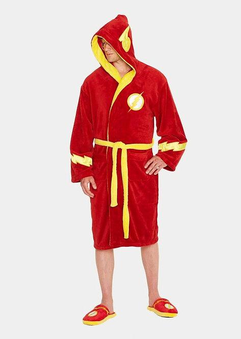 Flash - Flash Hooded Fleece Bathrobe