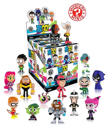 Teen Titans Go! - Mystery Minis WM US Exclusive Blind Box Set of 12