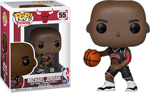 NBA: Bulls - Michael Jordan (Black Uniform) US Exclusive Pop! Vinyl