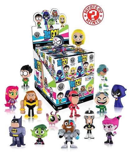 Teen Titans Go! - Mystery Minis TRU US Exclusive Blind Box