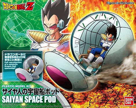Dragon Ball Z – Figure Rise Mechanics – Saiyan Space Pod With Vegeta