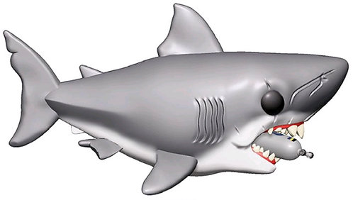 """Jaws - Jaws with diving tank 6"""" Pop! Vinyl"""