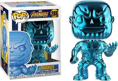 Avengers 3: Infinity War - Thanos Blue Chrome US Exclusive Pop! Vinyl