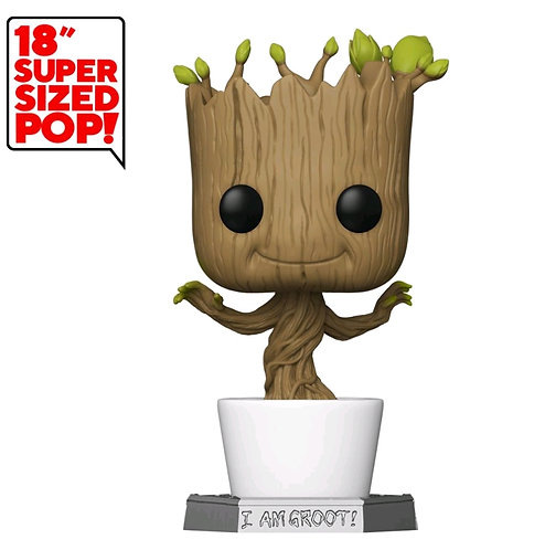 "Guardians of the Galaxy - Dancing Groot 18"" Pop! Vinyl"