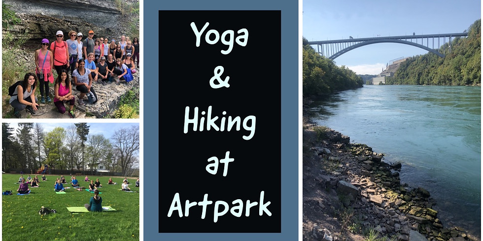 Yoga & Hiking at Artpark - SOLD OUT