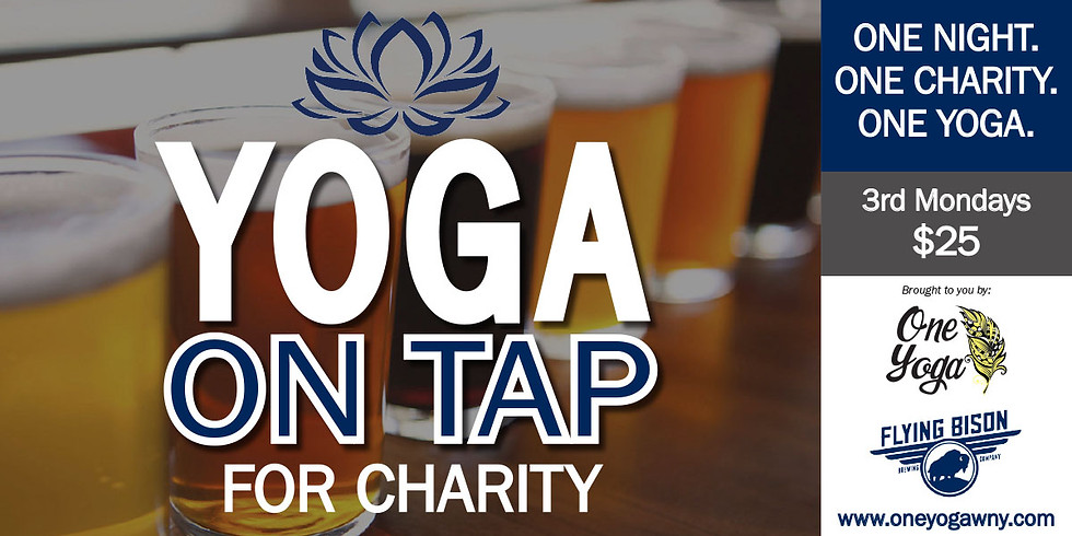 Yoga on Tap for Charity