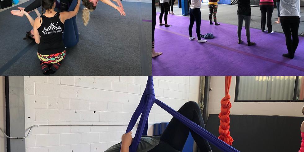 Yoga & Flying