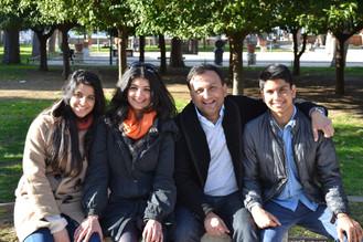 20130226_Vivek & Radhika & Mallika & Nik