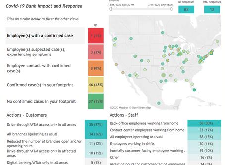Banking Industry Pandemic Response 3-19-20