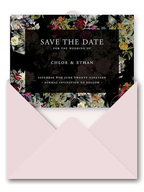 LIBERTY SAVE THE DATE PAPERLESS CARD