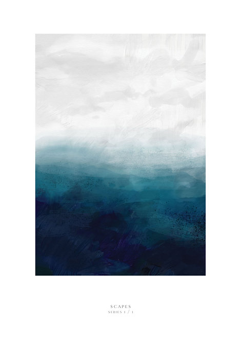 Painting of the sea, Irish art prints, Irish prints, seascape, rarebirds art