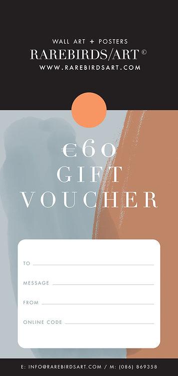 €60 Gift Voucher