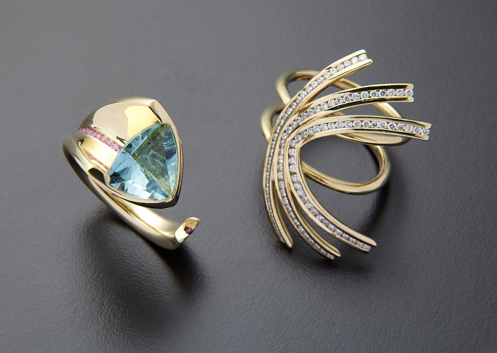 2 rings make one spectacular piece