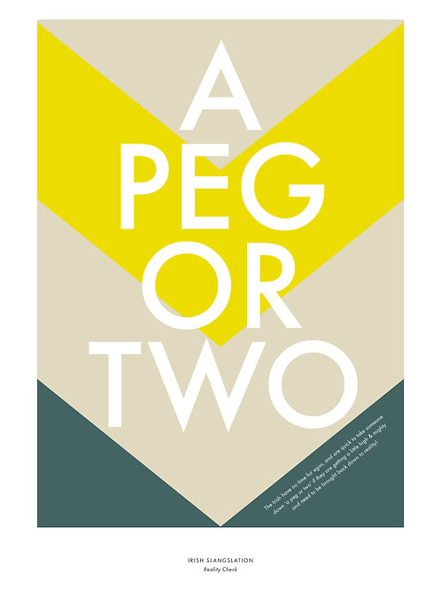 A Peg or Two