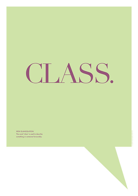 Irish word prints, and their hilarious meanings only Irish people will know. Graphic design poster