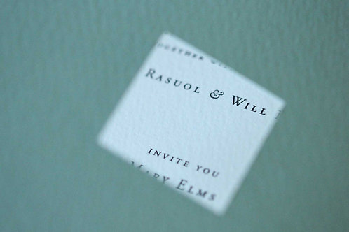 BOOKING DEPOSIT (to secure your wedding stationery order)