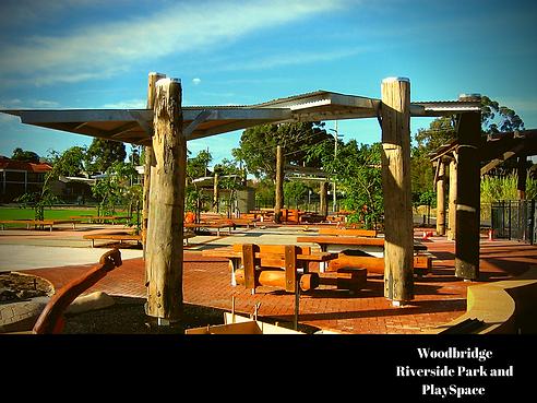 Woodbridge Riverside park and PlaySpace.