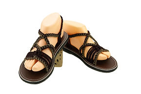 sandals for women emmy design dark brown color by nittynice
