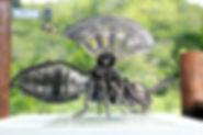 Bee Metal art animal sculpture for sale