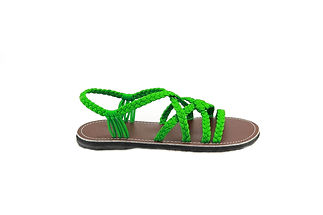 sandals for women kai design green color by nittynice3