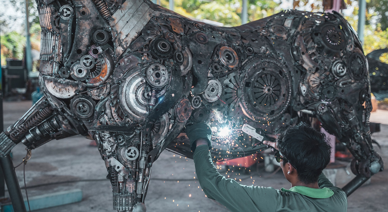 making horse metal sculpture.jpg