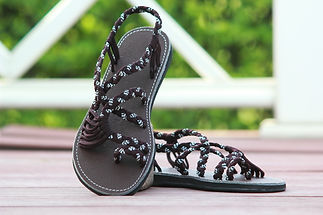 sandals for women sandy design brown white color by nittynice