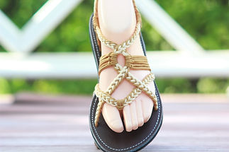 sandals for women luna design light yellow left color by nittynice