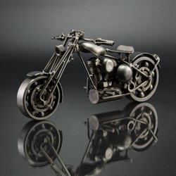 Motorcycle scrap metal