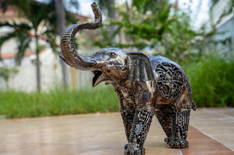 elephant metal art mari9art sculpture-9.