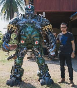 optimus transformer metal art sculpture mari9art-14.jpg