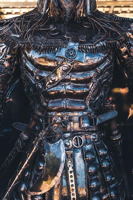 scandinavian warrior metal artwork