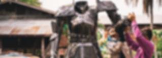 Making Knight warrior metal art sculpture