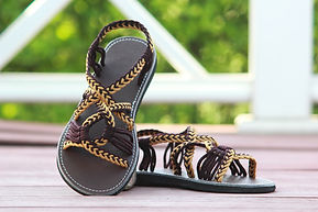 sandals for women emmy style brown color by nittynice