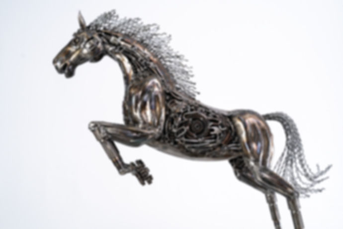 Horse metal art sculpture artwork_-13.jp