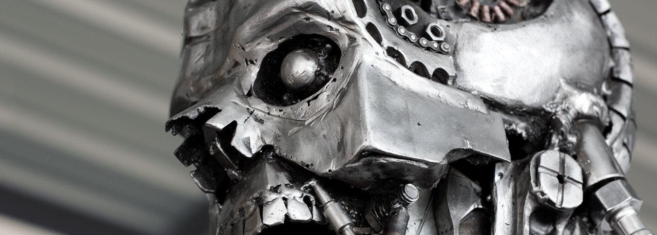 Terminator sculpture