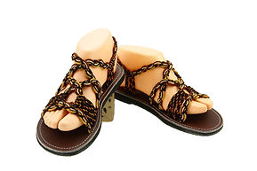 sandals for women emmy design coffee brown color by nittynice