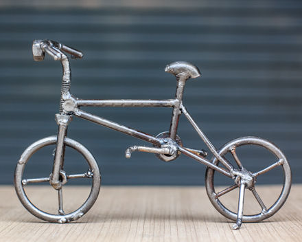 bicycle metal sculpture by mari9art.jpg