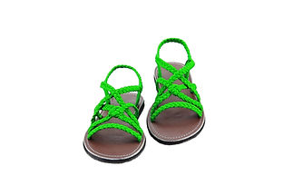 sandals for women kai design green color by nittynice