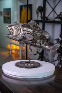 Fish seabass scrap metal sculpture-18.jpg