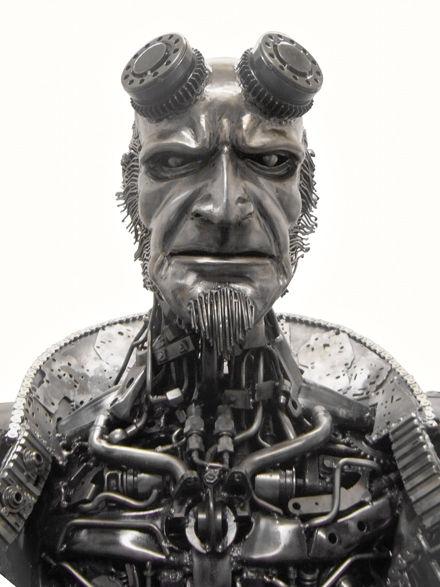 Alien body sculpture