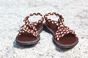 sandals for women fairy style brown color by nittynice