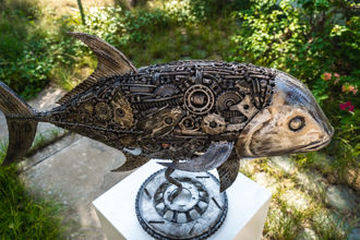 animal metal art sculpture by mari9art-2