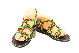 sandals for women sandy design red green yellow color by nittynice