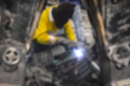 Making steel sculpture