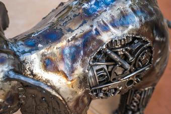 elephant metal art mari9art sculpture-13
