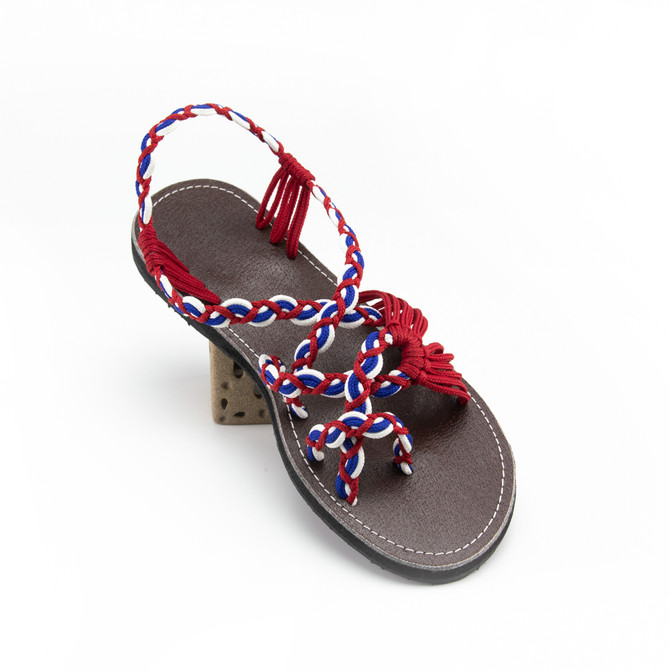 New braided sandals for this week