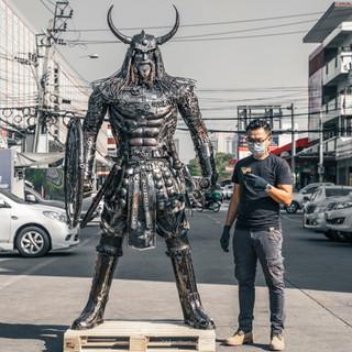 Viking warrior metal